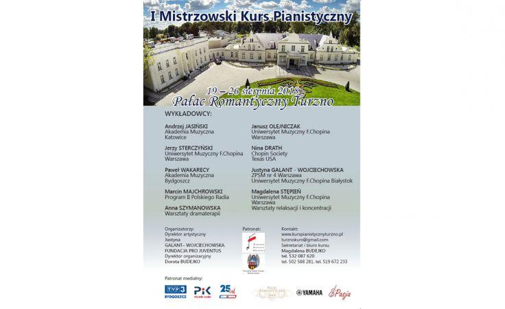 I Mistrzowski Kurs Pianistyczny
