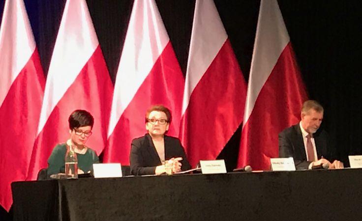 Minister Zalewska we Włocławku