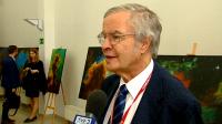 prof. Theodor Hänsch (fot. TVP3 Wrocław)