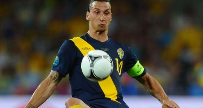 Szwedzi odpadli już po fazie grupowej, ale Zlatan Ibrahimović był jedną z gwiazd turnieju (fot. Getty Images)