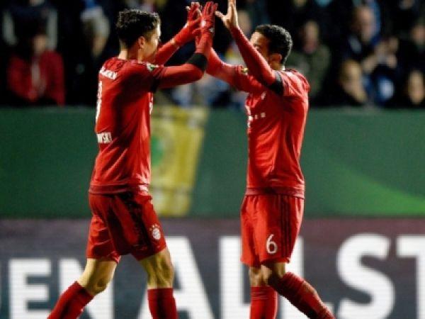 Ćwierćfinał Pucharu Niemiec: Bochum – Bayern (skrót)