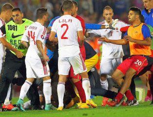 Serbia vs Albania. Komu przyzna rację UEFA?