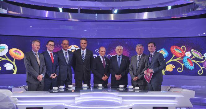 Dziennikarze i eksperci TVP będą towarzyszyć widzom przez blisko miesiąc (fot. Jan Bogacz/TVP)