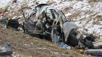 Śmiertelny wypadek w okolicach Olecka (fot. KWP Olsztyn)
