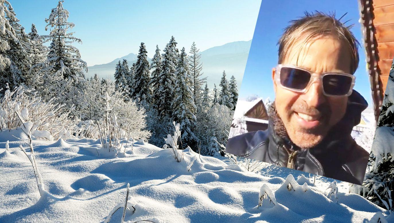 Limahl podczas pobytu w Zakopanem (fot. PAP/Grzegorz Momot/FB)