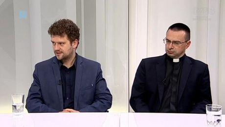 23.04.2018, Tomasz Sztreker – prezes Polskiej Akademii Biznesu, ks. Przemysław Król