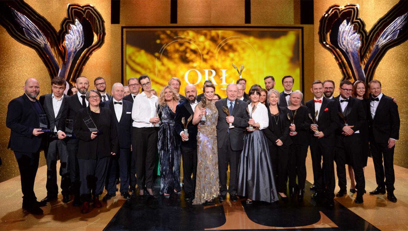 Gala wręczenia Polskich Nagród Filmowych Orły odbyła się już po raz 20. (fot. PAP/Stach Leszczyński)
