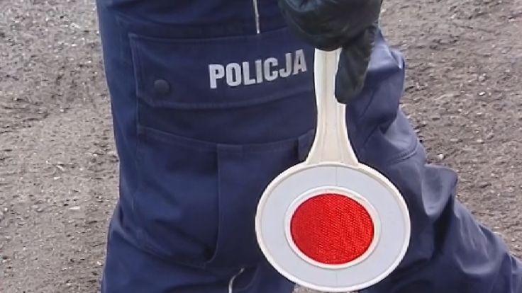 """Policjanci z inowrocławskiej drogówki """"mieli szczęście"""" do pijanego 45-latka"""
