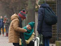 Iga jest zaangażowana w wychowanie córek (fot. Mateusz Wiecha)