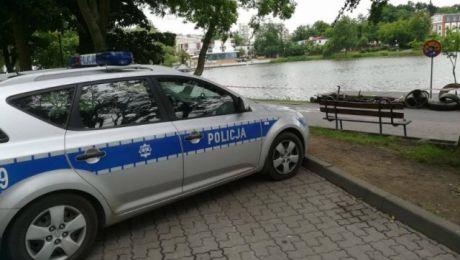 Niewybuchy odkryto na dnie Małego Jezioraka w Iławie (fot. KWP Olsztyn)