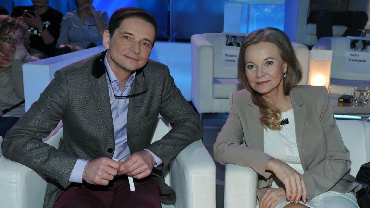 ...oraz Przemysław Babiarz i Laura Łącz (fot. TVP/K.Kurek)