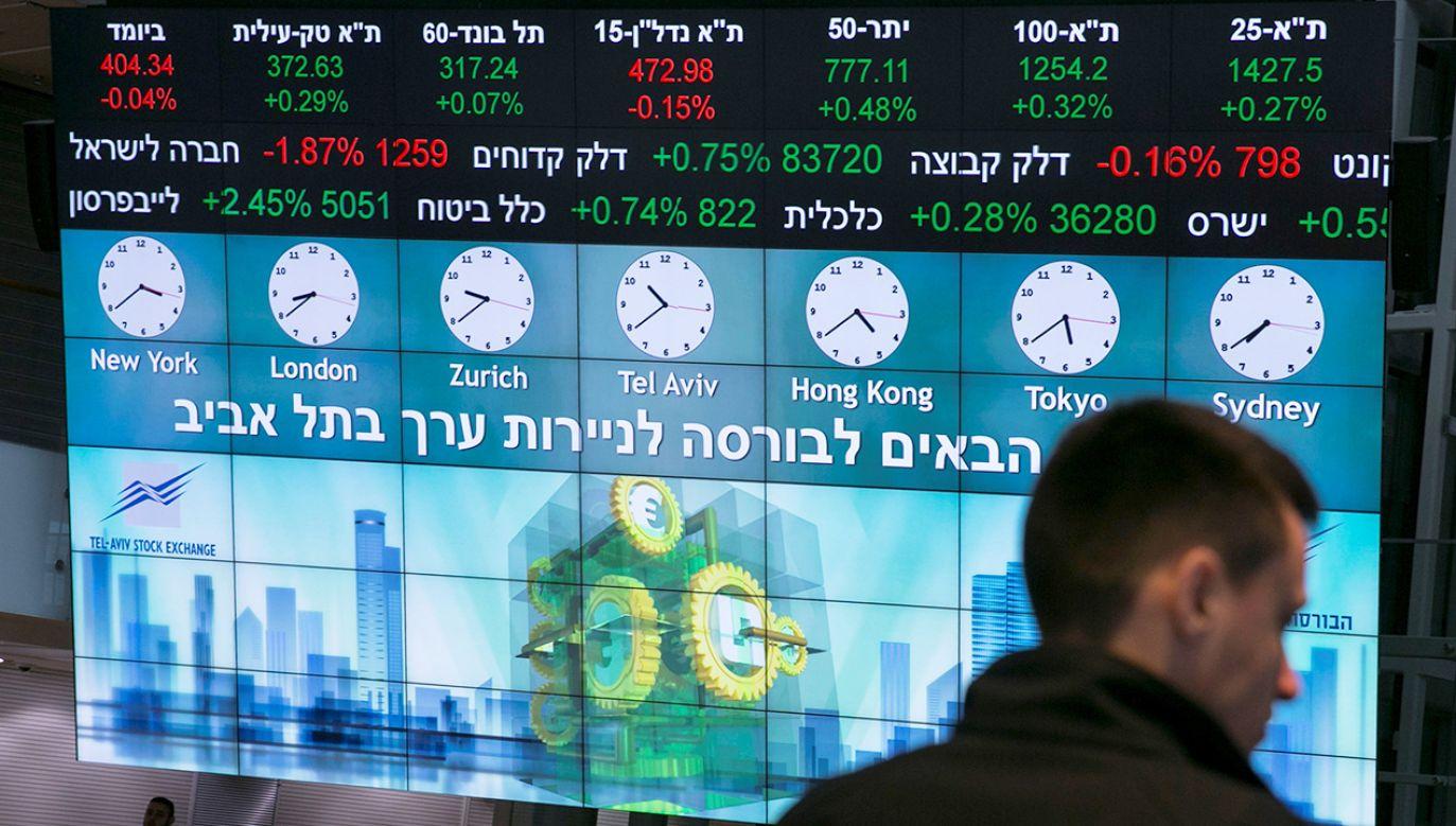Polska giełda złożyła ofertę kupna izraelskiej Tel Aviv Stock Exchange (fot. REUTERS/Baz Ratner)