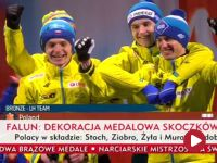 Medale na szyjach Polaków. Zobacz ceremonię!