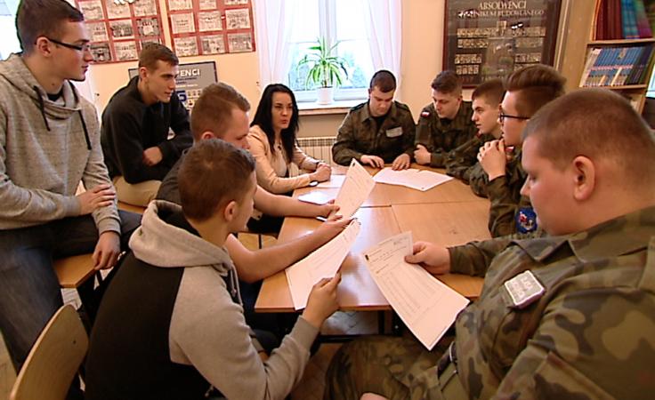 Przygotowania do żywej lekcji historii w Jarosławiu