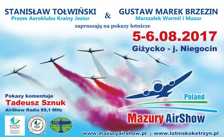 Mazury AirShow 2017 to odsłona jednej z największych cywilnych imprez lotniczych w Polsce (fot. mat.prom.)