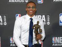 Russell Westbrook został MVP sezonu zasadniczego