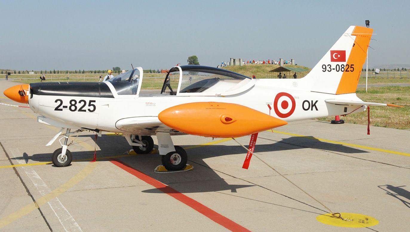 W katastrofie zginęło dwóch pilotów (fot. Wikipedia/Aldo Bidini)