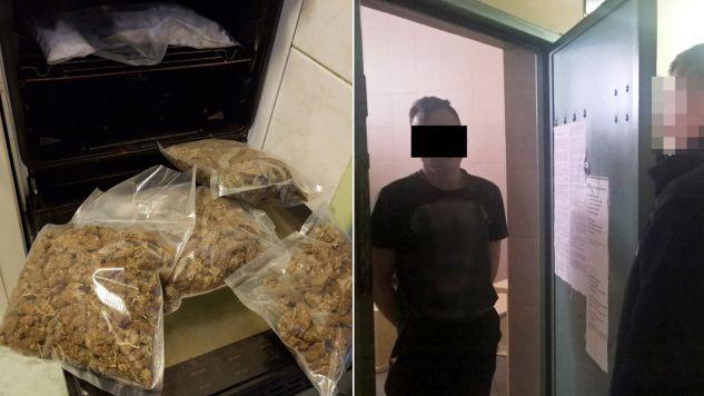 Policjanci skonfiskowali znaczną ilość narkotyków i ponad 6 tys. zł (fot. policja.waw.pl)