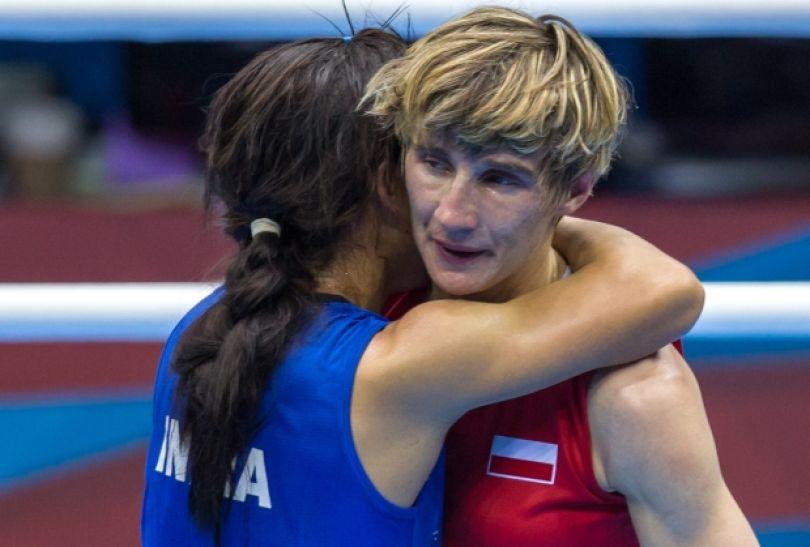 Karolina Michalczuk przegrała pierwszą walkę z Hinduską Mery Kom (fot. PAP/Adam Ciereszko)