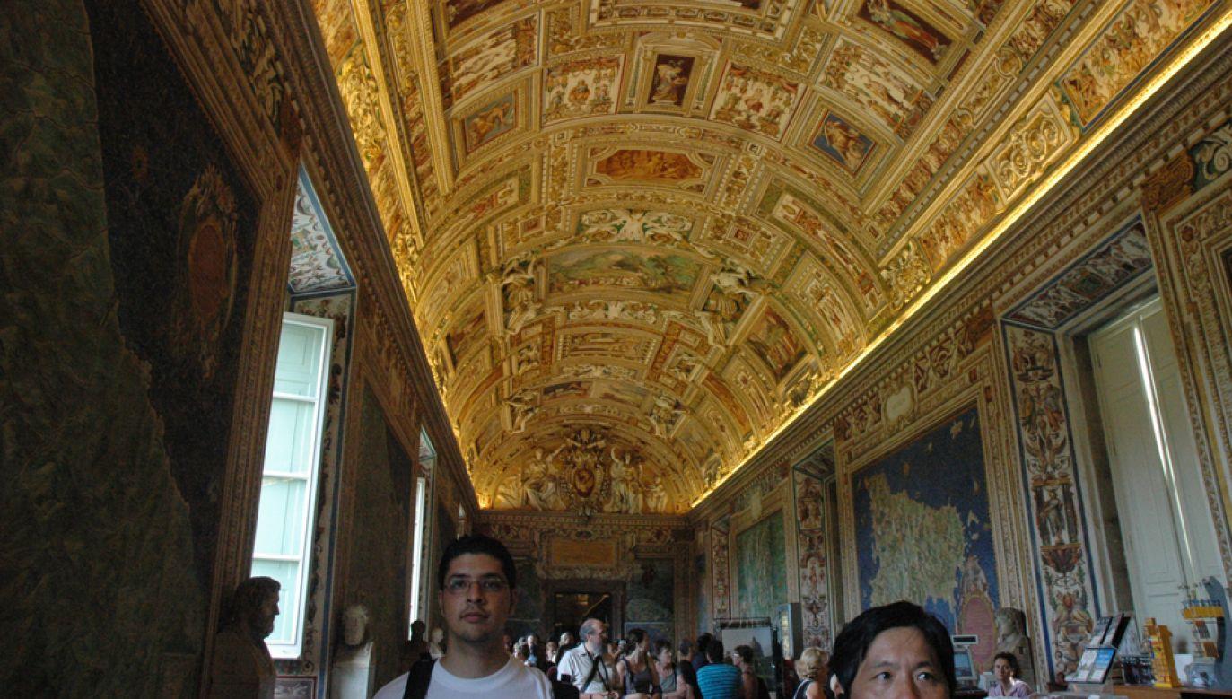 Muzeum Watykańskie zaprasza też o świcie (fot. Wikimedia Commons)