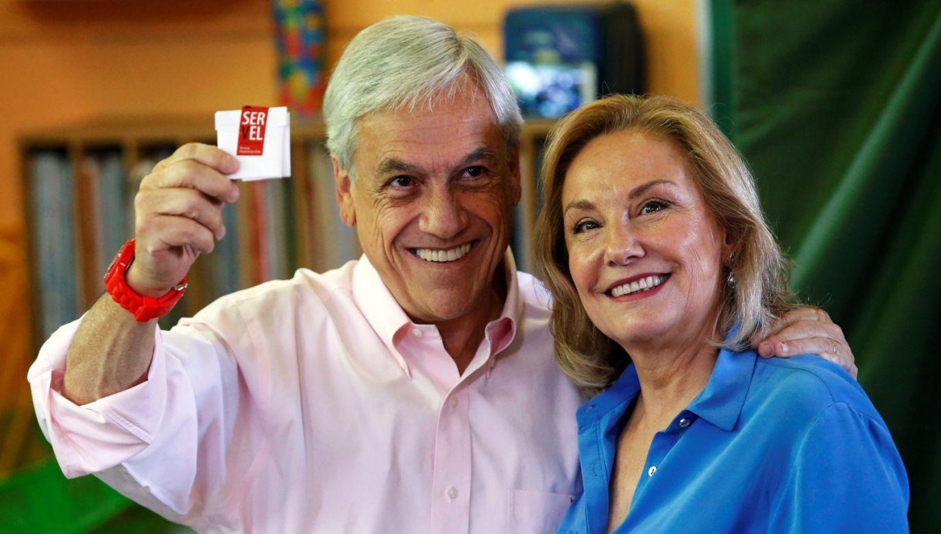 Sebastian Pinera ma objąć urząd prezydenta Chile 11 marca 2018 roku (fot. PAP/EPA/ELVIS GONZALEZ)