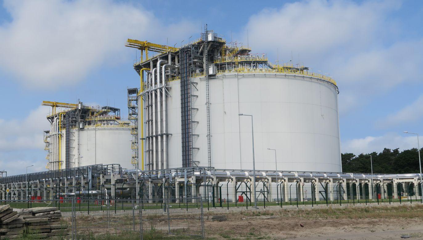 Min. Witold Waszczykowski spotkał się z przedstawicielami firmy Chenier, która eksportuje do Polski skroplony gaz LNG (fot. Wikimedia Commons/Maciek Kwiatkowski)