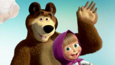 Masza i niedźwiedź – Wieczór filmowy, odc. 42
