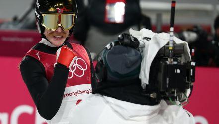 Pjongczang, skoki narciarskie, 2. seria: skok Roberta Johanssona