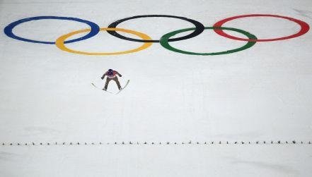 Pjongczang, skoki narciarskie: konkurs na dużej skoczni