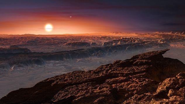 Na planecie Proxima b może być życie? (fot. materiały prasowe)