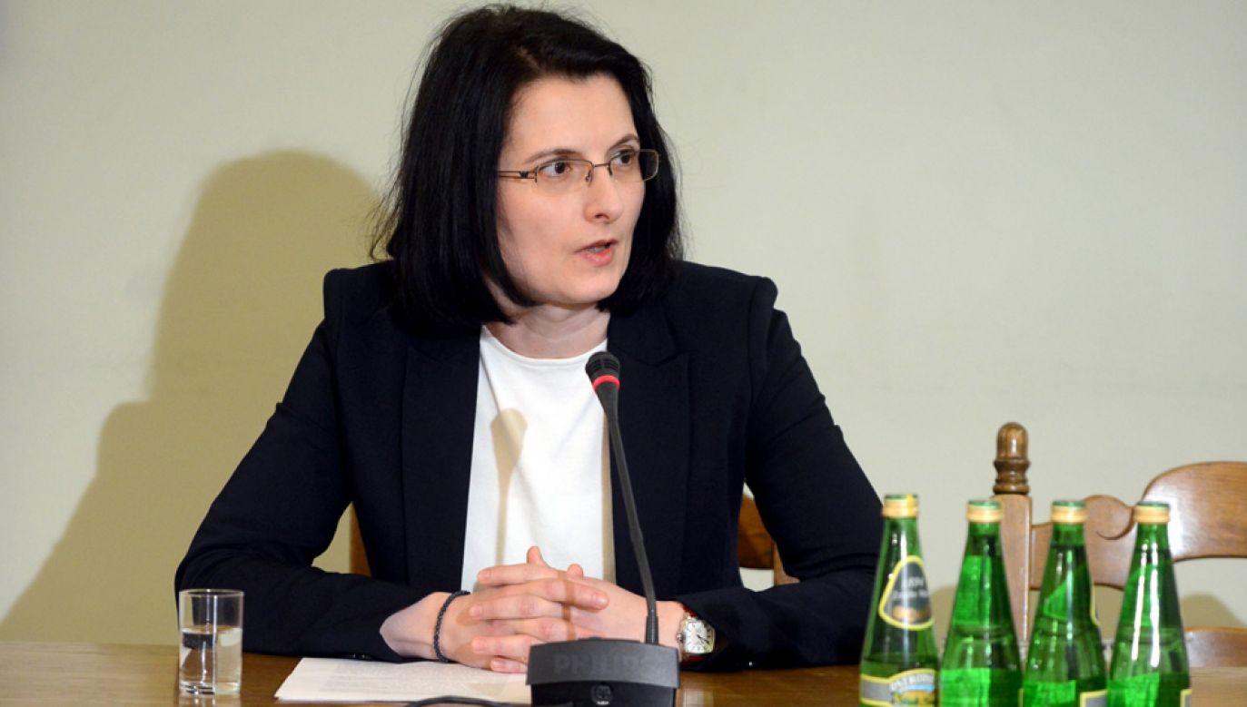 Była prokurator łódzkiej prokuratury okręgowej Ewa (fot. PAP/Jakub Kamiński)