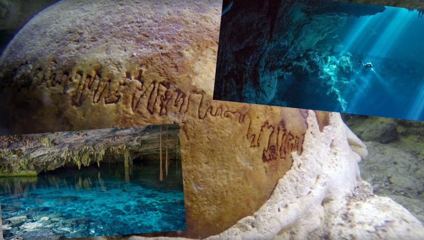 Eksplorację jaskiń prowadzono w ramach meksykańskiego projektu Gran Acuifero Maya (GAM) (fot. tt.proyectogam/youtube