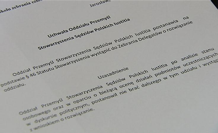Sędziowie z Przemyśla Podjęli uchwałę o rozwiązaniu Iustitii