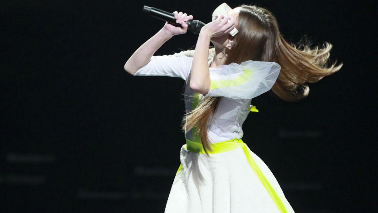 Czy artystka stresuje się przed niedzielnym występem? (fot. Andres Putting/Eurovision)