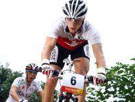 Trzecie miejsce w wyścigu mężczyzn zajął Szwajcar Nino Schurter (fot. Getty Images)