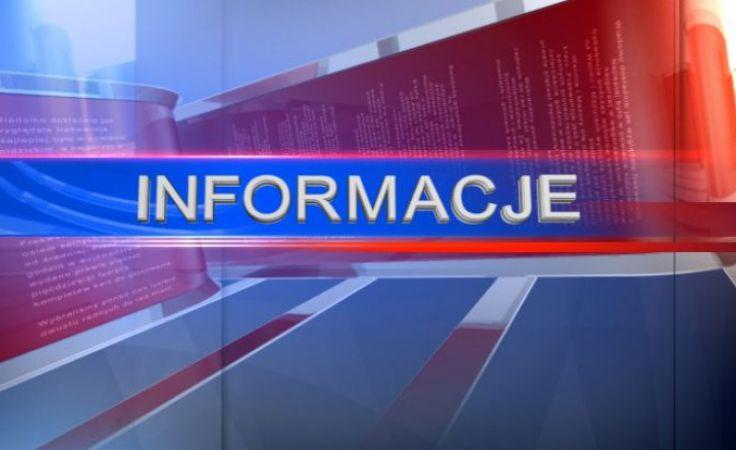Na główne wydanie Informacji zapraszamy o godzinie 18:45