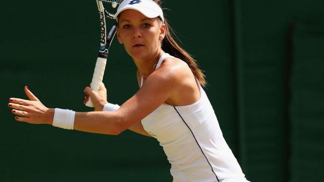Wimbledon: zacięty mecz. Radwańska w półfinale!