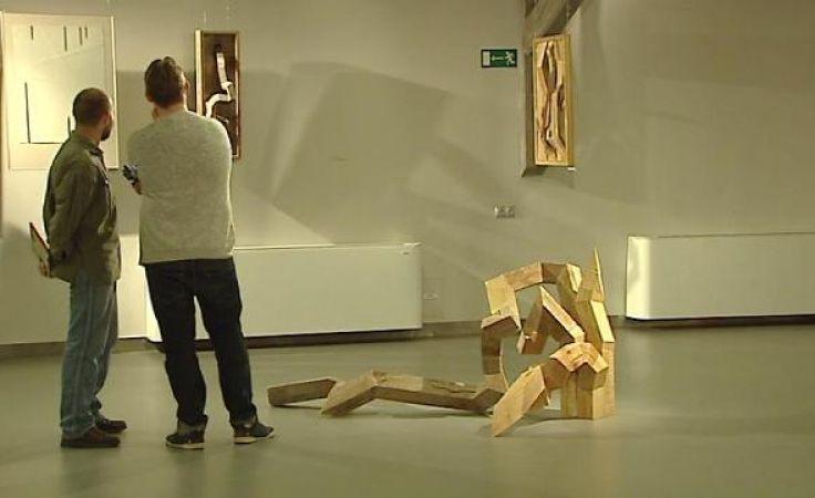 Szczególne zainteresowanie widzów wzbudziły specjalnie oświetlone rzeźby i instalacje.