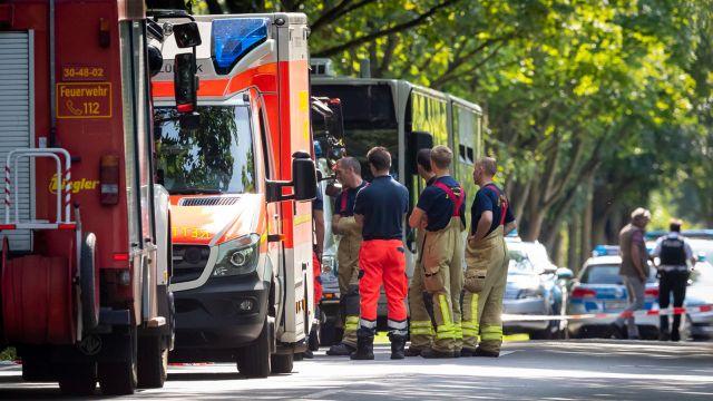 Atak nożownika w Lubece. Wiele osób rannych