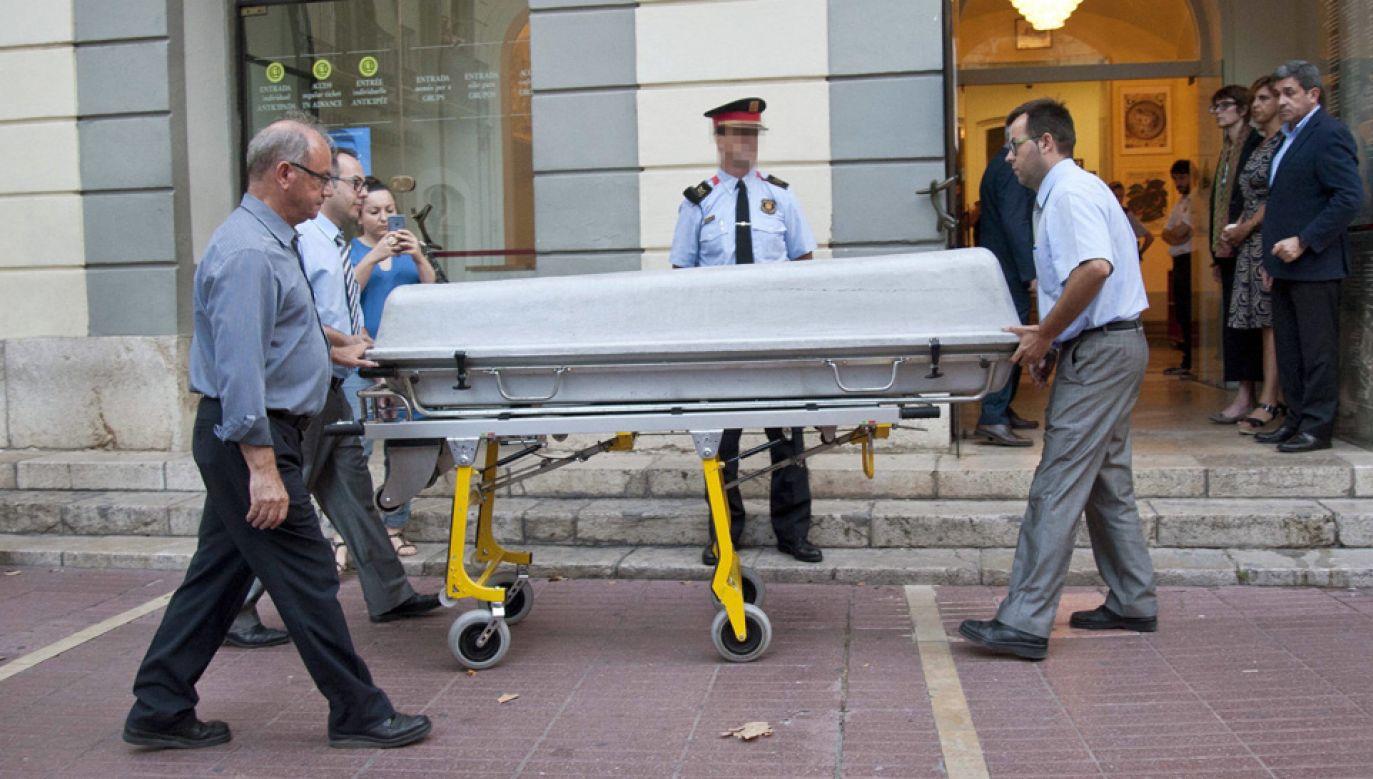 Ciało Salvadora Dalego ekshumowano latem ubiegłego roku (fot. arch.PAP/EFE)