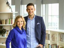 Nowa para prowadzących Monika Richardson i Tomasz Wolny (fot.Agencja Forum)