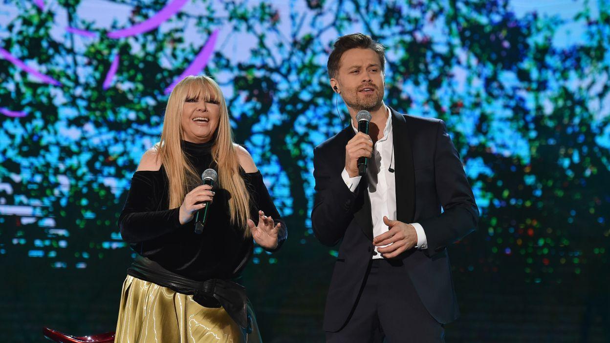 Aktor śpiewał też w duecie z Marylą Rodowicz  (fot. Ireneusz Sobieszczuk)