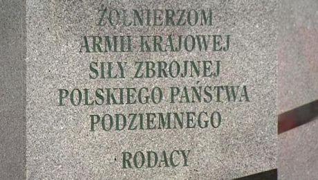 """W Olsztynie odbyły się obchody Narodowego Dnia Pamięci """"Żołnierzy Wyklętych""""."""