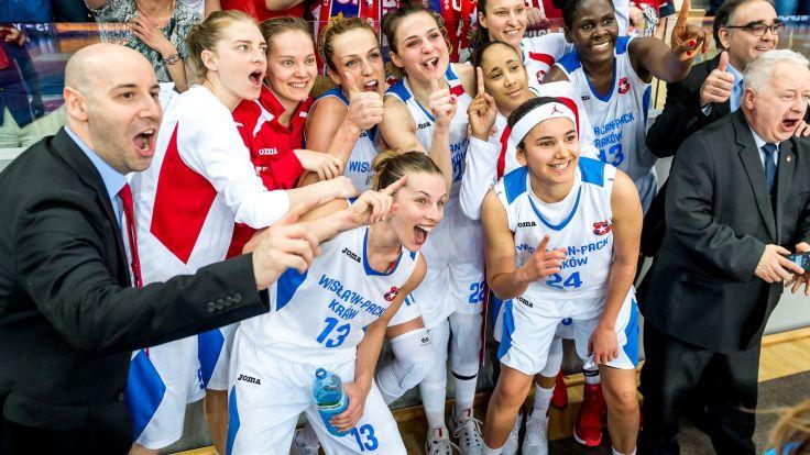 Koszykarki Wisły (fot. PAP)