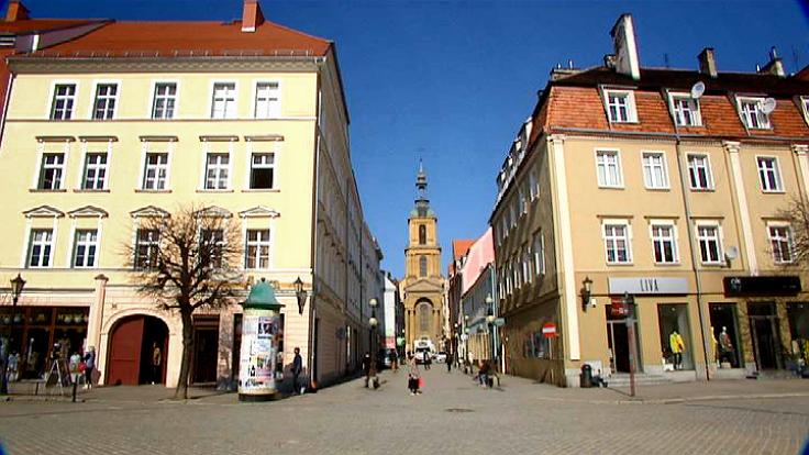 Dzierżoniów (fot. TVP3 Wrocław)