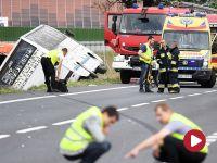 Wypadek autobusu. Są ofiary śmiertelne i wielu rannych
