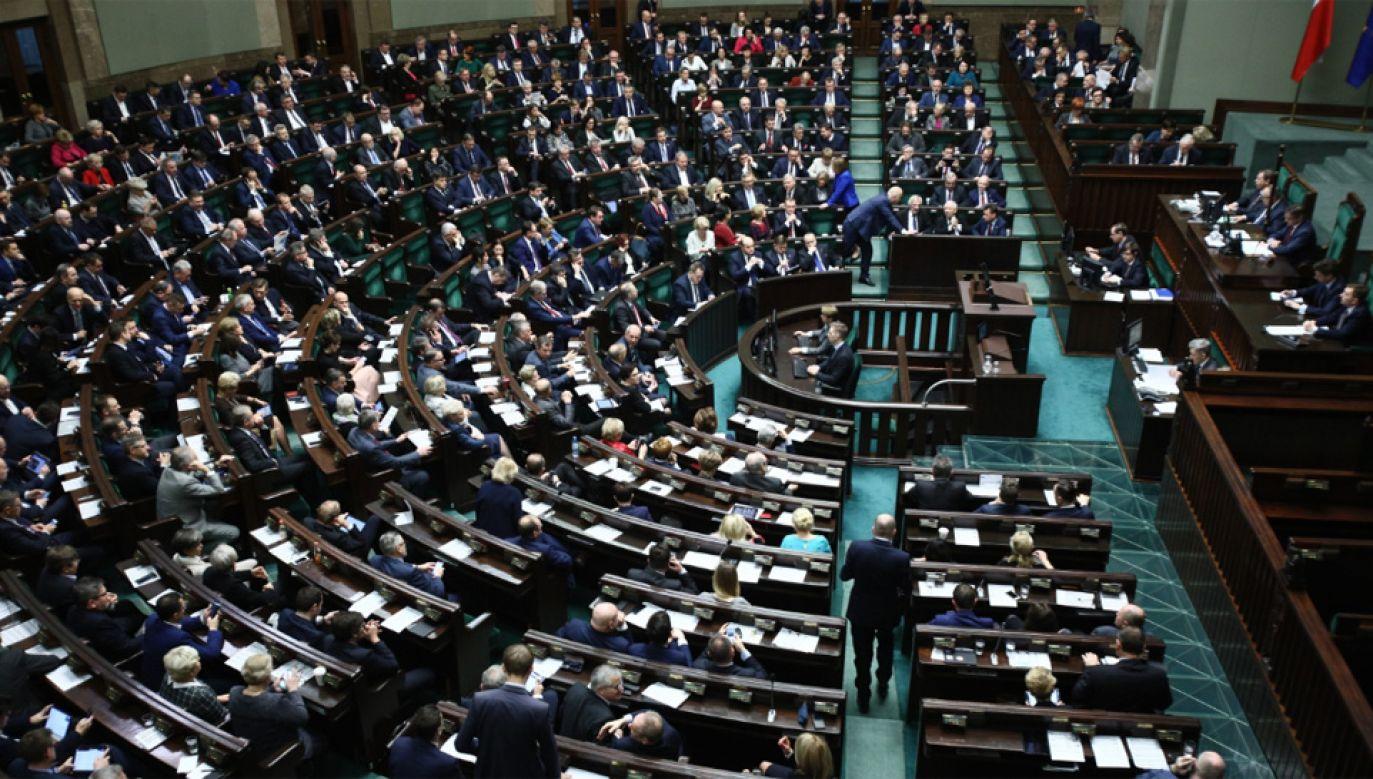 To ostatnie przed świętami posiedzenie Sejmu (fot. PAP/Leszek Szymański)