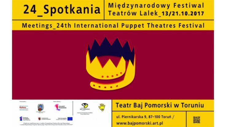 """Międzynarodowy Festiwal Teatrów Lalek """"Spotkania"""""""