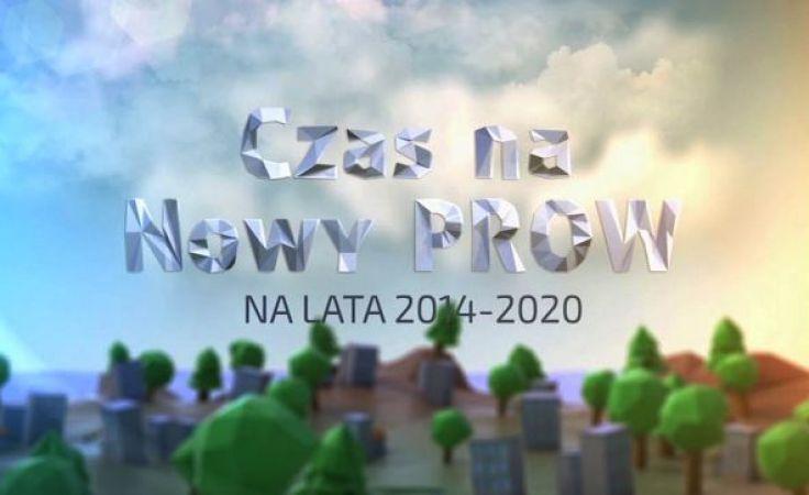 Czas na nowy PROW na lata 2014-2020