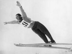 Szwajcarski skoczek narciarski Niklaus Stump (fot. Getty Images)